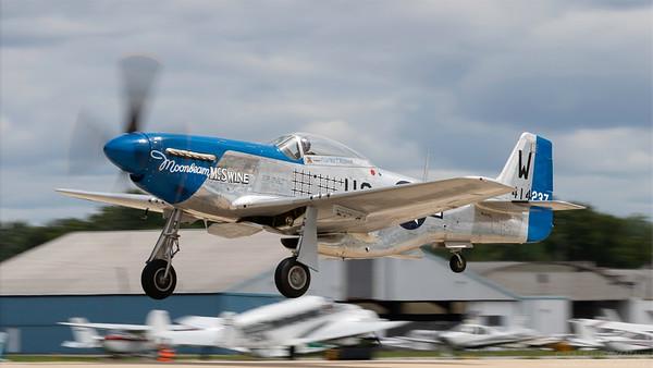 414237. North American P-51D Mustang. USAAF. Oshkosh. 260718.
