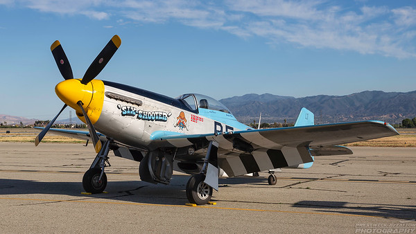 422580 (N2580).  North American P-51D Mustang. USAAF. Chino. 010515.
