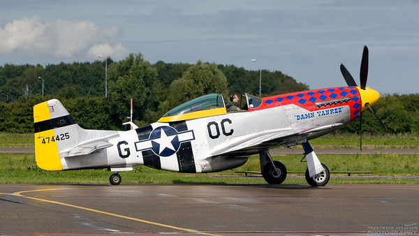 474425(PH-PSI). North American P-51D Mustang. USAAF. Lelystad. 010907.
