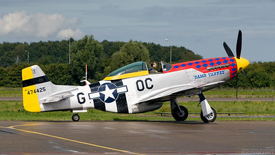 474425(PH-PSI). North American P-51D Mustang. USAAF. Lelystad. 010907.