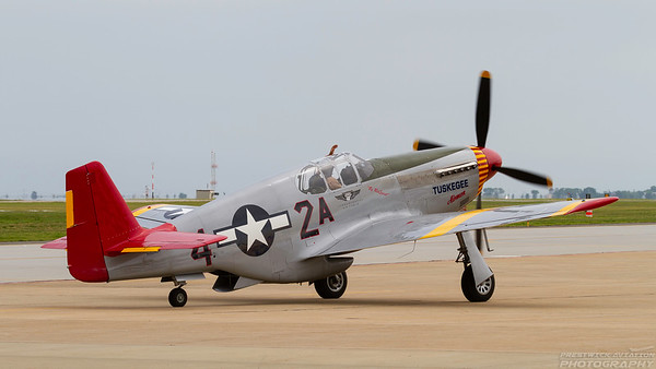 NX61429. North American P-51C Mustang. USAAF. Langley AFB. 140511.