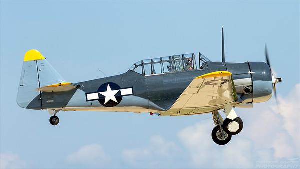 N7861B. North American SNJ-5 Texan. US Navy. Oshkosh. 240718.