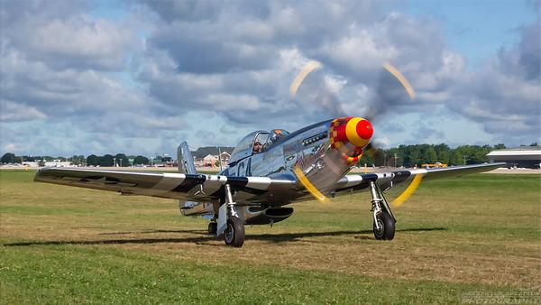 44-74009(N51KB). North American P-51D Mustang. USAAF. Oshkosh. 260718.