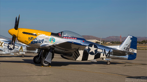 473751( N5444V). North American P-51D Mustang. USAAF. Chino. 010515.