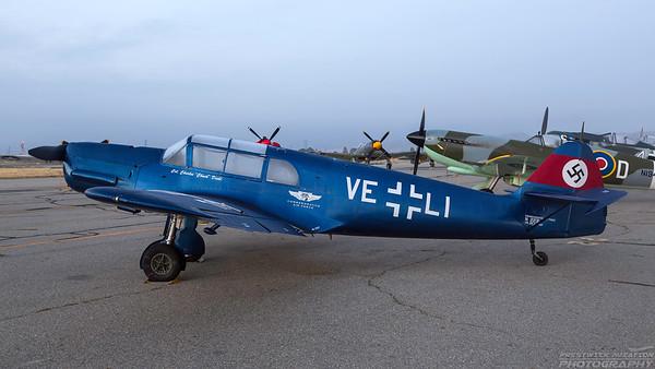 NX2231. Messerschmitt Bf-108 Taifun. Luftwaffe. Chino. 020515.