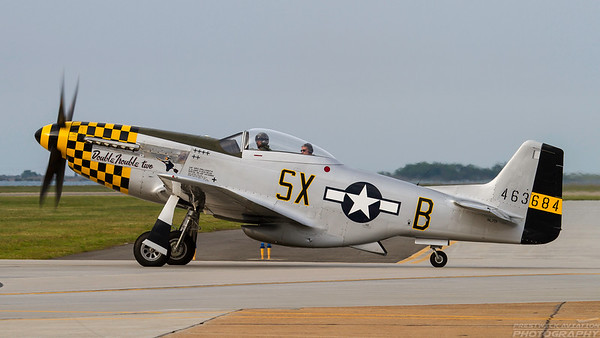 463684 (NL7TF). North American P-51D Mustang. USAAF. Langley AFB. 130511.