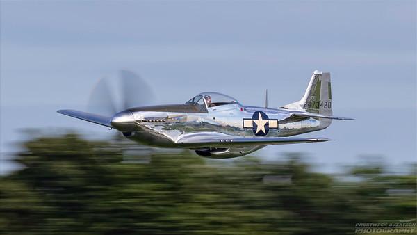 473420(NL151AM). North American P-51D Mustang. USAAF. Oshkosh. 260718.