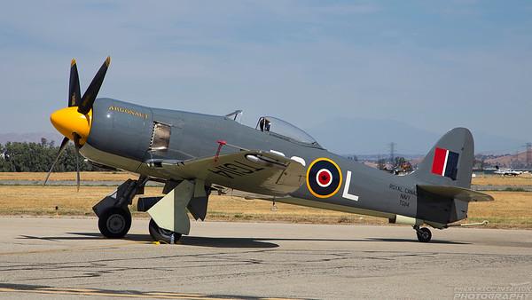 TG114 (N19SF). Hawker Sea Fury FB.11. Royal Canadian Navy. Chino. 010515.