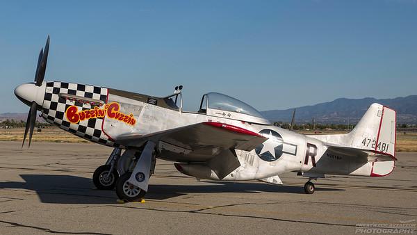 472481(N251BP). North American P-51D Mustang. USAAF. Chino. 010515.