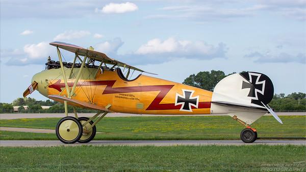 Pfalz D.III. Luftwaffe. Oshkosh. 260718.