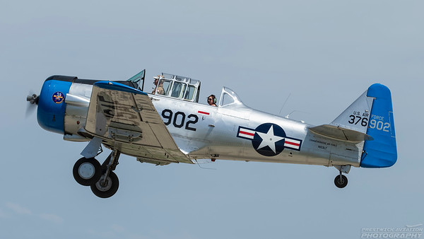 376902 (N103LT). North American SNJ-4 Texan. USAAF. Oshkosh. 250718.