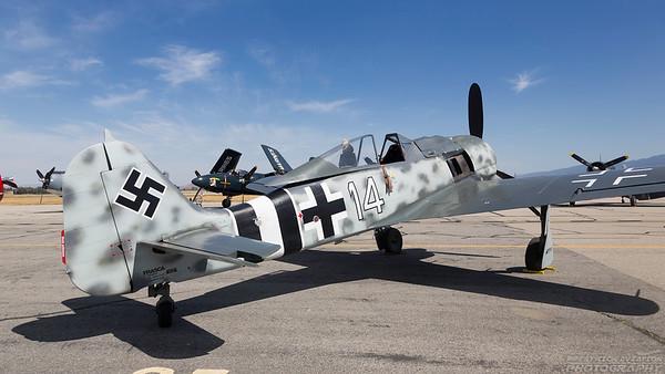 NX190RF. Focke-Wulf Fw190A-9. Luftwaffe. Chino. 010515.