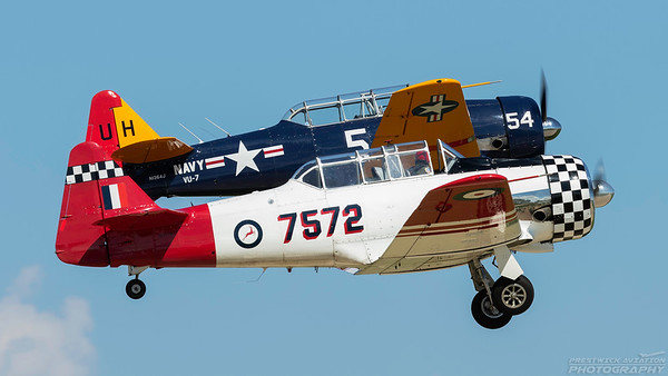 N7572. North American AT-6D Texan. Oshkosh. 230718.