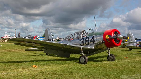 122384(N69041). Vultee BT-13A Valiant. USAAF. Oshkosh. 260718.