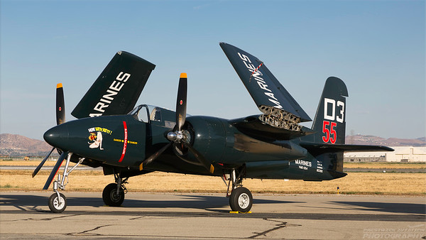 80390(NX700F). Grumman F7F Tigercat. US Marines. Chino. 010515.