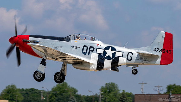 473843(NL10601). North American P-51D Mustang. USAAF. Oshkosh. 230718.