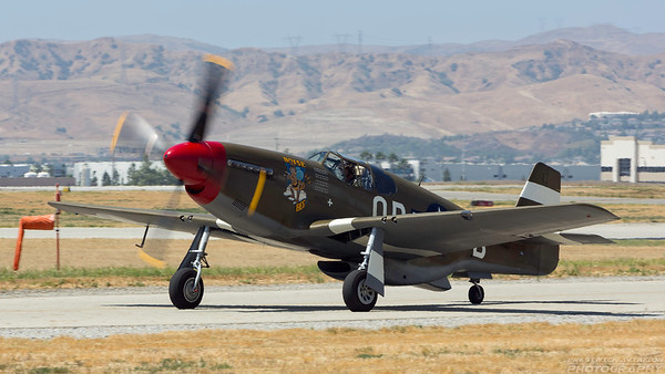 36819(NX4651C). North American P-51C Mustang. USAAF. Chino. 020515.