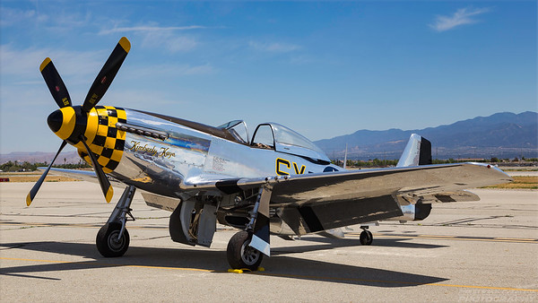45-11559 (N451TB). North American P-51K Mustang. USAAF. Chino. 010515.
