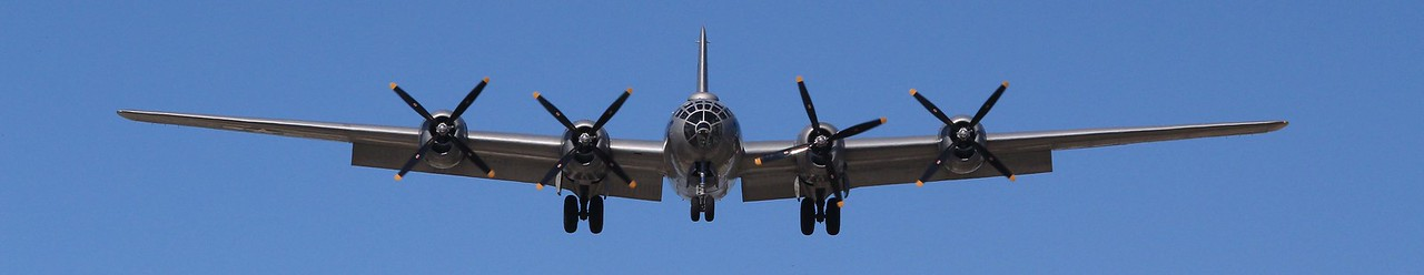 2011-WWII Aircraft on Final Approach-Wings Over Houston