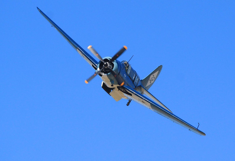 Curtiss Helldiver. It was faster and heavier than the SBD Dauntless it replaced in 1944.