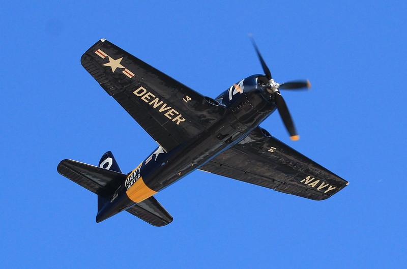 F8F Bearcat, made by Grumman who championed radial powerplant use.