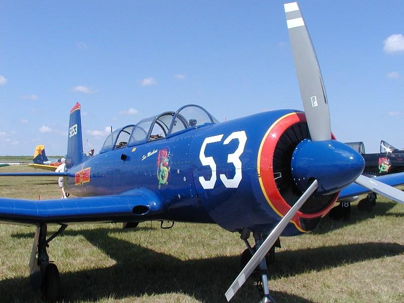Nanchang CJ-6<br /> Wings Over Miami 2004