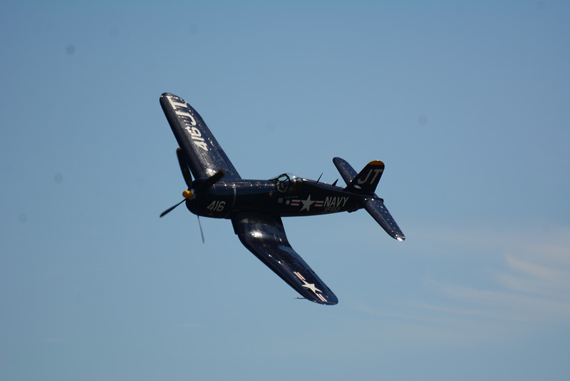 ...And it was a couple of great photo passes of the F4U Corsair.