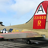 Tail end of the B-17