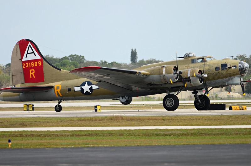 B-17............touchdown