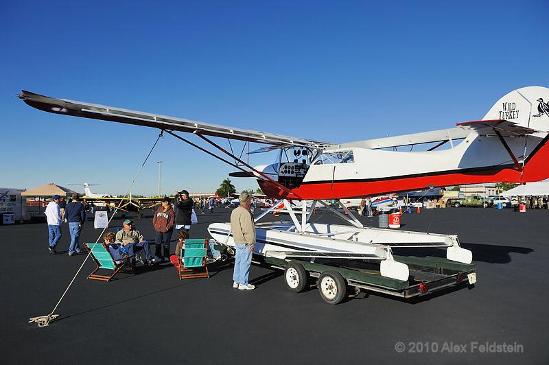 2004 Avid Aircraft Magnum C/N 52 N45559<br /> Kit-built floatplane