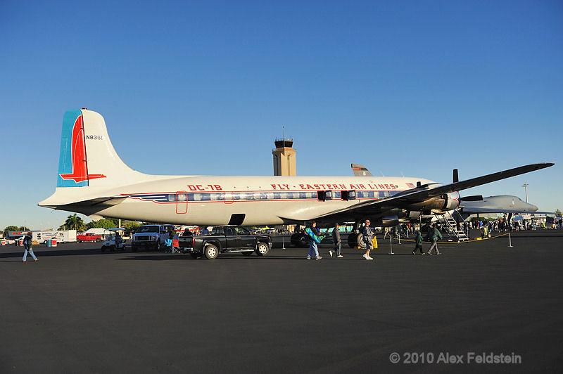 DC-7B N836D at 2010 Homestead air show