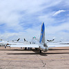 B-17 Sentimental Journey laying over at the Colorado Springs Airport