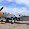P-51 Mustang, Section Eight laying over at the Colorado Springs Airport