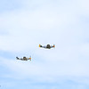 P-51 Mustangs Section Eight & Mormon Mustang perform a fly by in Colorado Springs, CO