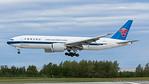 B-2027. Boeing 777-F1B. China Southern Cargo. Anchorage. 110617.