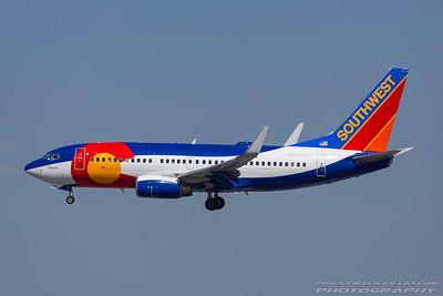 N230WN. Boeing 737-7H4. Southwest. Los Angeles. 230917.