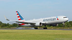 N348AN. Boeing 767-323/ER. American Airlines. Manchester. 180717.