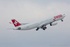 HB-JHJ. Airbus A330-343. Swiss. Zurich. 170117.