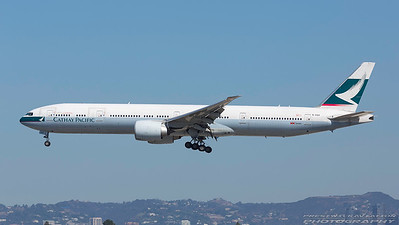 B-KQH. Boeing 777-367/ER. Cathay Pacific. Los Angeles. 240917.