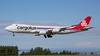 LX-VCK. Boeing 747-8R7F/SCD. Cargolux. Anchorage. 180617.