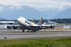 N477MC. Boeing 747-47UF/SCD. Atlas Air. Anchorage. 100617.
