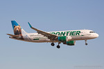 N227FR. Airbus A320-214(WL). Frontier Airlines. Los Angeles. 150617.