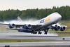 N854GT. Boeing 747-87UF/SCD. Atlas Air. Anchorage. 080617.