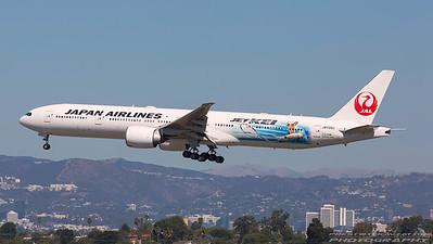 JA733J. Boeing 777-346/ER. JAL. Los Angeles. 240917.