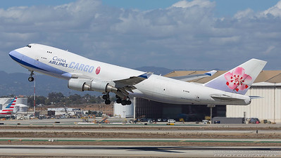 B-18706. Boeing 747-409F/SCD. China Airlines Cargo. Los Angeles. 210917.