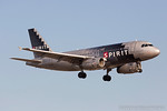 N516NK. Airbus A319-132. Spirit Airlines. Los Angeles. 150617.