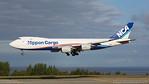 JA18KZ. Boeing 747-8KZF/SCD. Nippon Cargo Airlines. Anchorage. 180617.