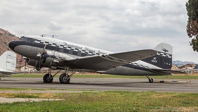NC43XX. Douglas DC-3. Thunderbird Flying Services. Flabob. 150917.