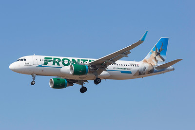N233FR. Airbus A320-214(WL). Frontier Airlines. Los Angeles. 180917.