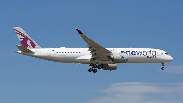 A7-ALZ. Airbus A350-941. Qatar Airways. Frankfurt. 210518.